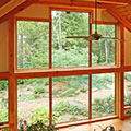 architect designed home - bancroft - study windows