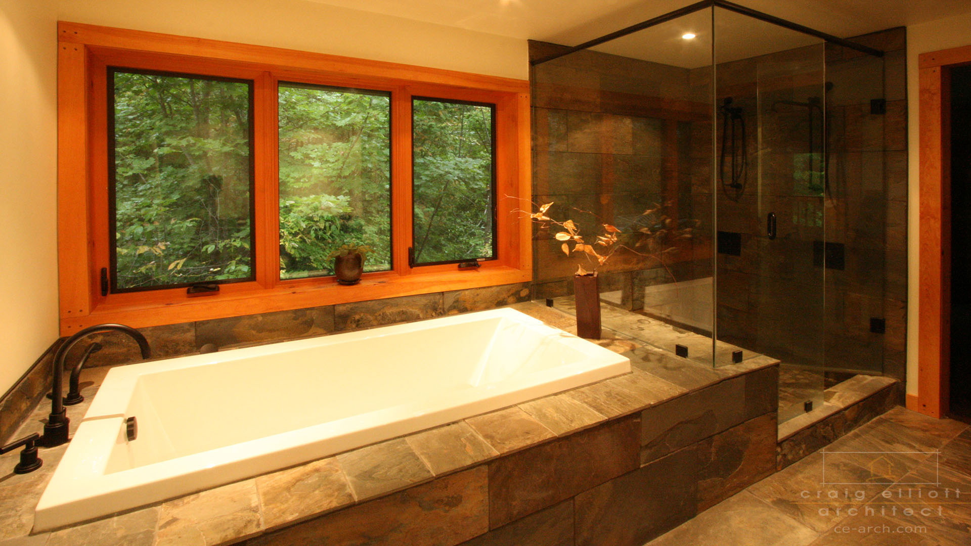 architect designed home - bancroft - ensuite
