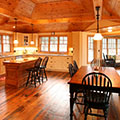 architect designed cottage - lake of bays muskoka - kitchen & eating