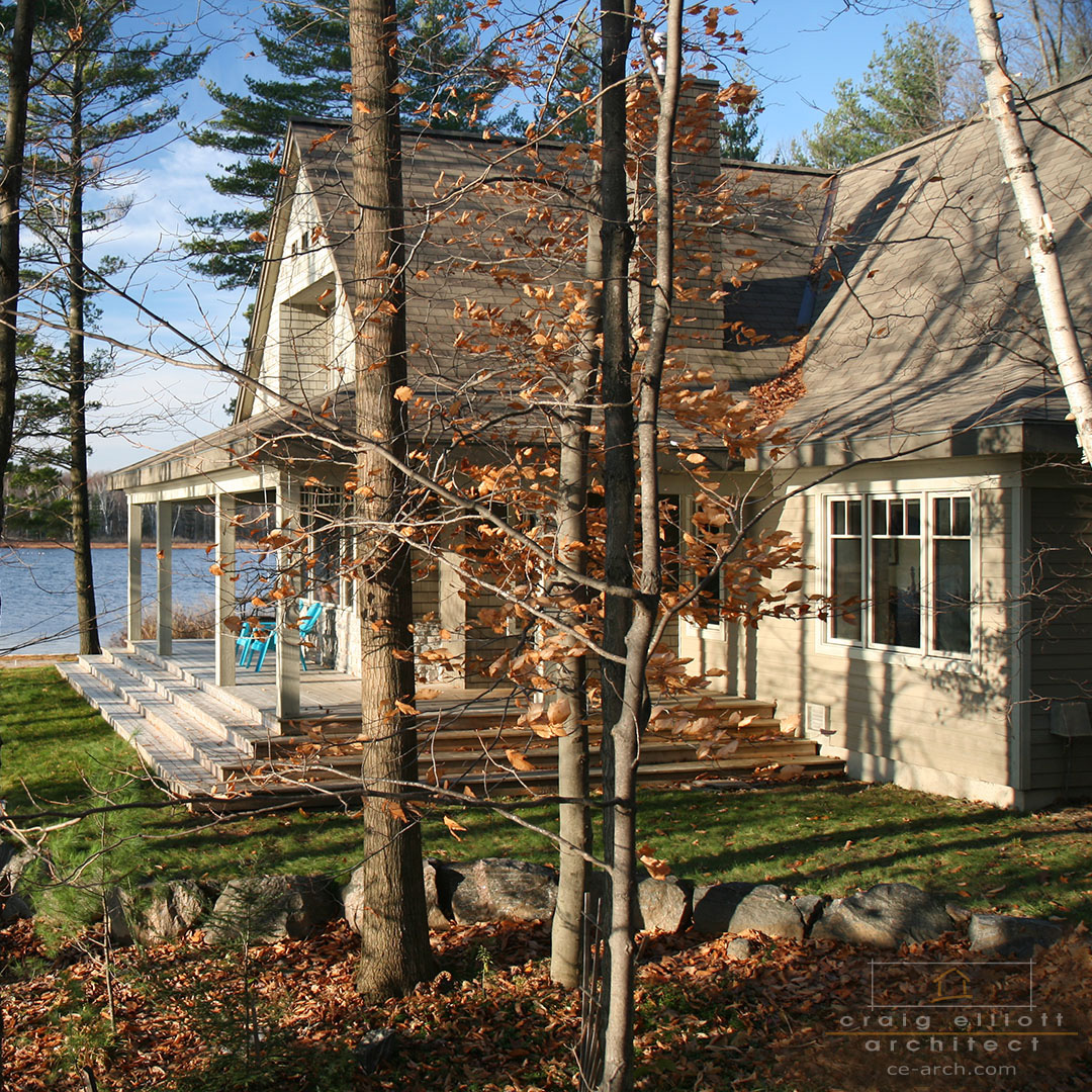 architect designed lakefront home - muskoka - end