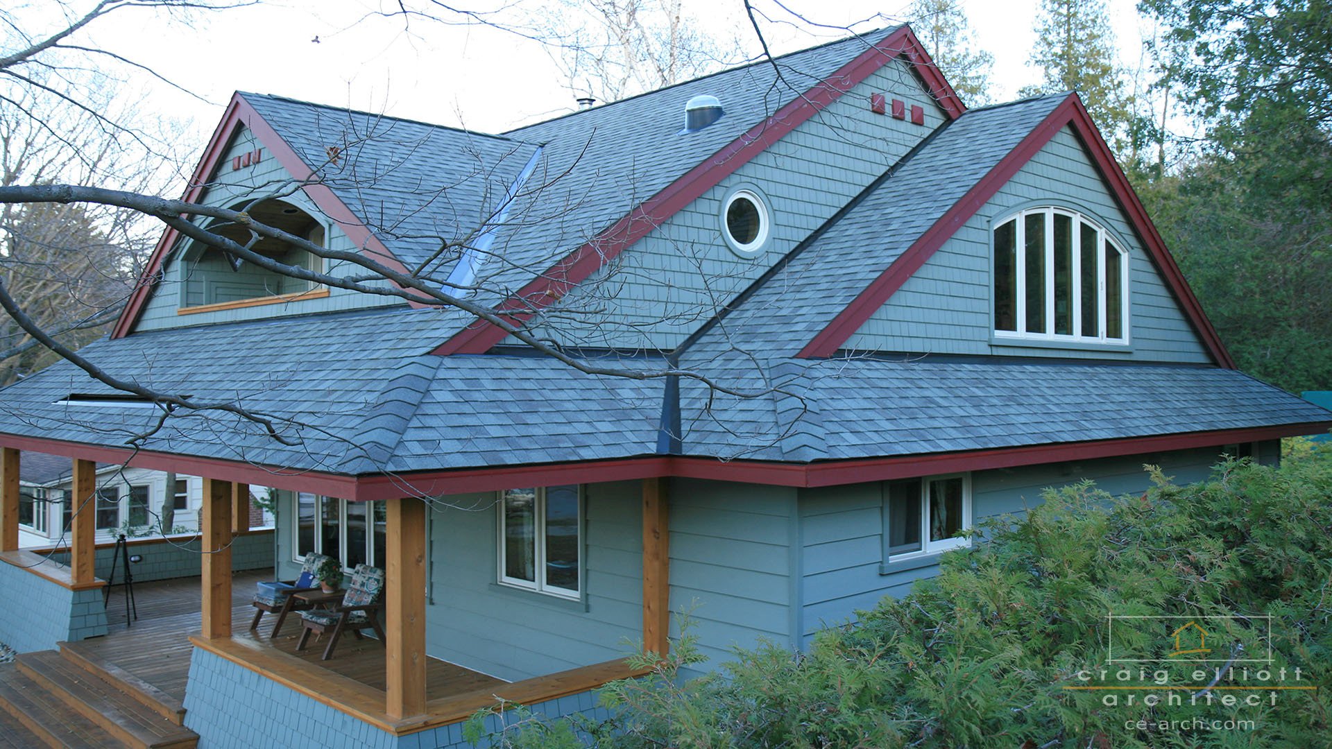 exterior photos - rooflines
